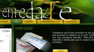 Antigua web de enredaTe